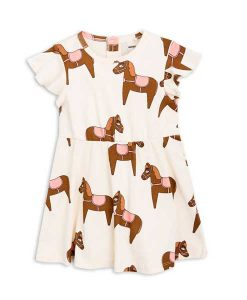 Dress Horse Pink Mini Rodini auf mina-lola.com