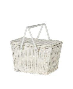 Piki Picnic Basket White von Olli Ella auf mina-lola.com