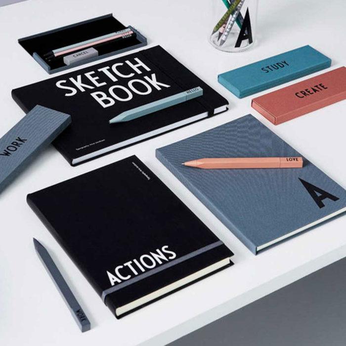 Kugelschreiber WORK Design Letters auf www.mina-lola.com