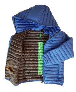 Steppjacke Star Blue Save The Duck Recycled Collection auf mina-lola.com