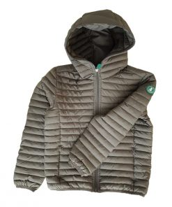 Steppjacke grau auf mina-lola.com von Save the duck