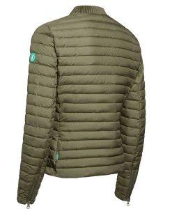 Jacket Slim Fit Sage Green Save The Duck Recycled Collection auf mina-lola.com