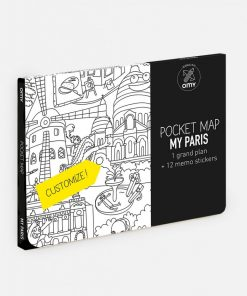 Pocket map my Paris auf mina-lola.com von OMY