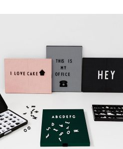 Icons OFFICE Black für Message Boards Design Letters auf mina-lola.com
