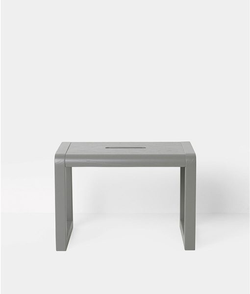Little Architect Stool Grey Ferm Living auf mina-lola.com