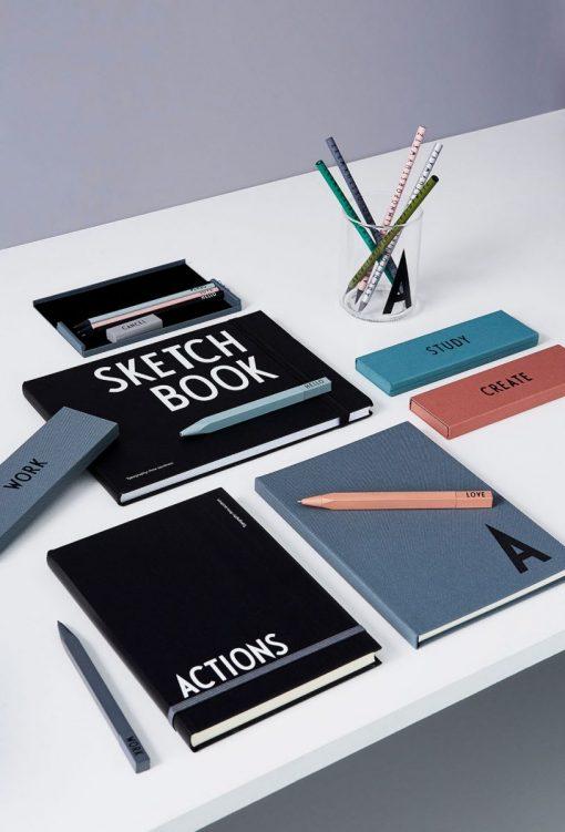 Federpennal WORK auf mina-lola.com von Design Letters