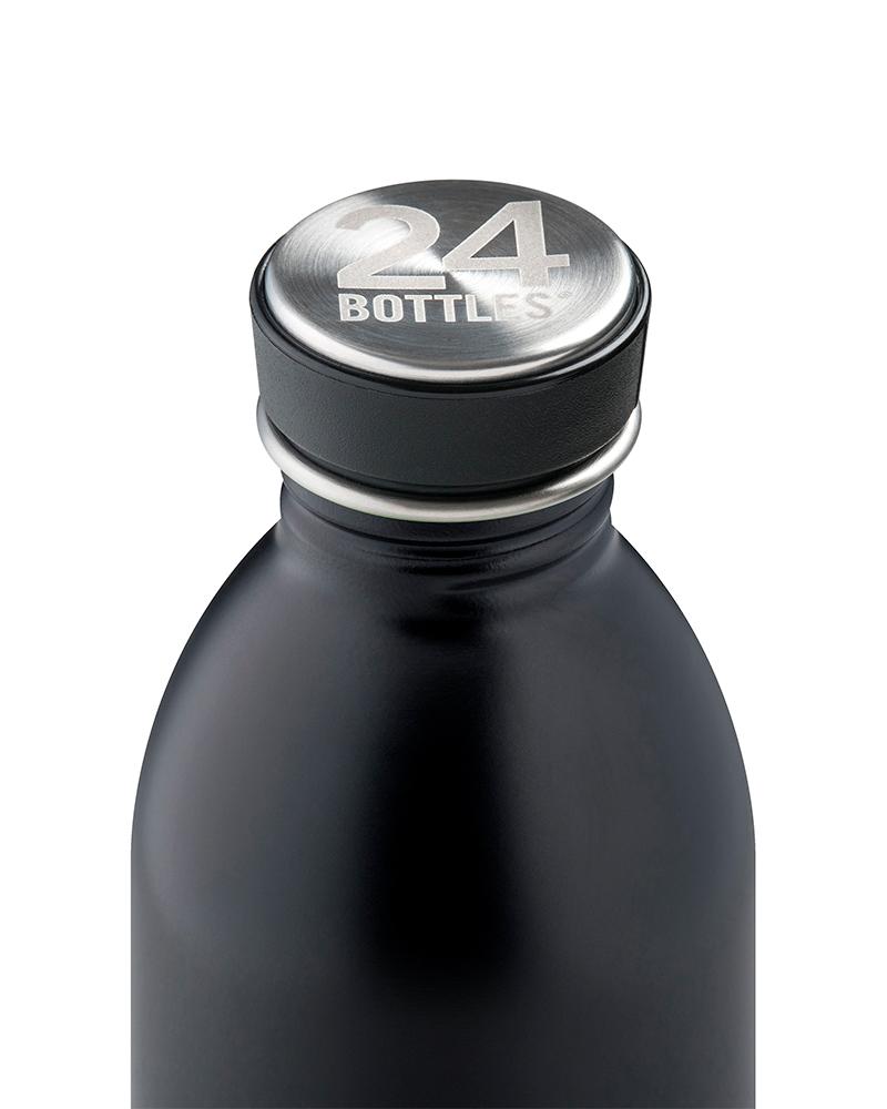 Trinkflasche 500Ml Schwarz auf mina-lola.com von 24Bottle