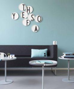 Porzellanteller Buchstaben auf mina-lola.com von Design Letters