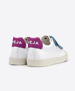 Esplar Leather 3 Locks White Glitter Woman VEJA auf www.mina-lola.com