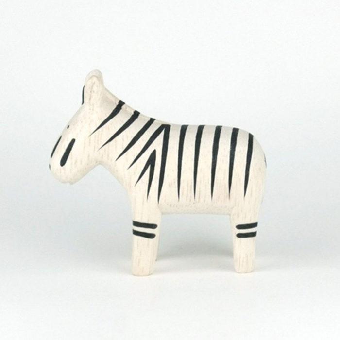 Holztier Zebra T-Lab auf www.mina-lola.com