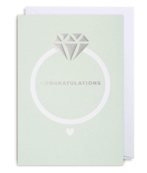 Klappkarte Congratulations Lagom Design auf www.mina-lola.com
