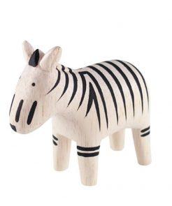 Polepole Holztier Zebra auf mina-lola.com von T-lab