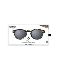 Sonnenbrille #C Junior Tortoise Grey Lenses Izipizi auf www.mina-lola.com