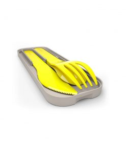 Besteck Pocket Color Gelb auf mina-lola.com von Monbento