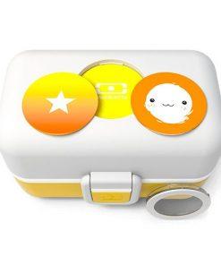 Lunchbox Tresor Moutarde auf mina-lola.com von Monbento