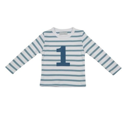 Geburtstagsshirt 1 Ocean Blue auf www.mina-lola.com