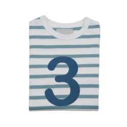 Geburtstagsshirt 3 Ocean Blue auf www.mina-lola.com