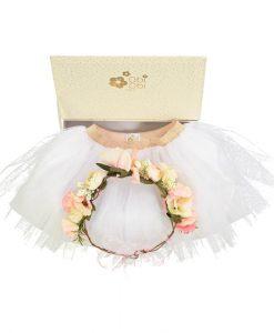 Gift Set Tutu und Flower Crown auf mina-lola.com von Obi Obi