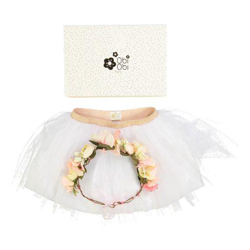 Tutu und Blumenkrone Gift Set von Obi Obi auf www.mina-lola.com