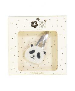 Haarspange Pandabär auf mina-lola.com von Obi Obi
