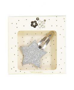 Haarspange Stern in Silber auf mina-lola.com von Obi Obi Paris