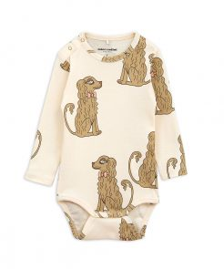 Body Long Sleeve Spaniel Mini Rodini auf www.mina-lola.com