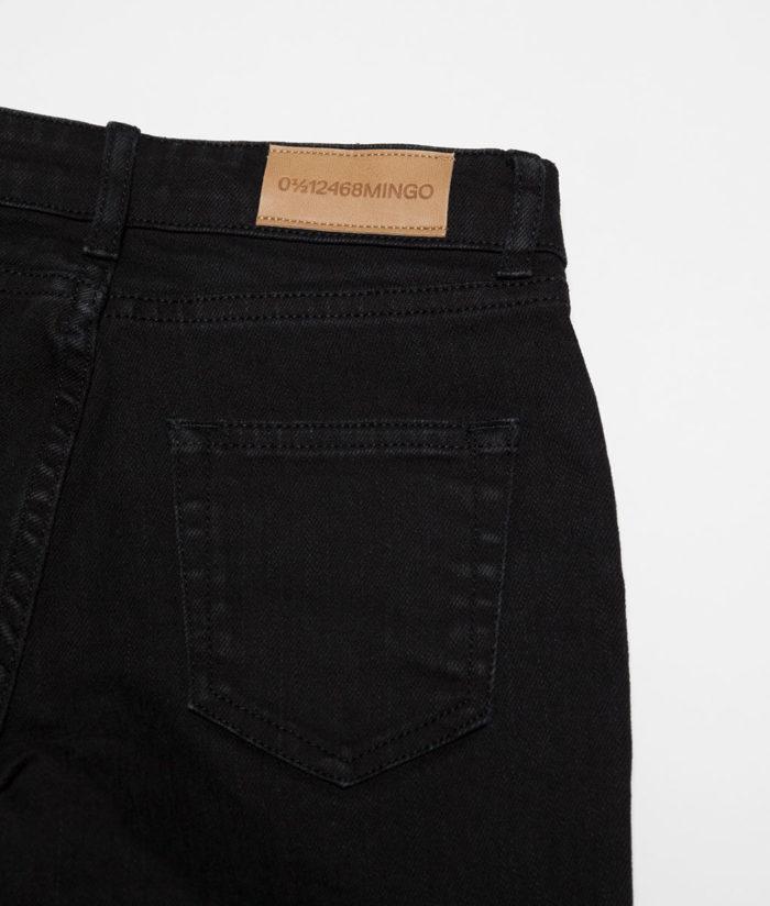 Jeans Mum Black Mingo auf www.mina-lola.com