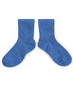 Kurze Socken Bleu Cobalt Collégien auf mina-lola.com von Collégien