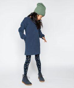 Sweater Dress Black Iris Mingo auf www.mina-lola.com