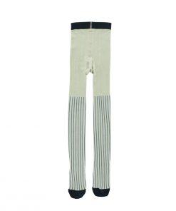 Strumpfhose Stripes Pistacho Tinycottons auf www.mina-lola.com