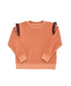 Sweatshirt Frills Towel Tinycottons auf www.mina-lola.com