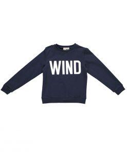 Sweatshirt WIND Navy Classic Gro Company auf www.mina-lola.com