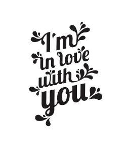 Tattoo I`m in Love with you von Tattyoo auf www.mina-lola.com