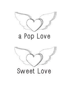 Tattoo Sweet Love von Tattyoo auf www.mina-lola.com
