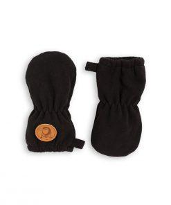 Baby Fäustlinge Fleece Black Mini Rodini auf www.mina-lola.com