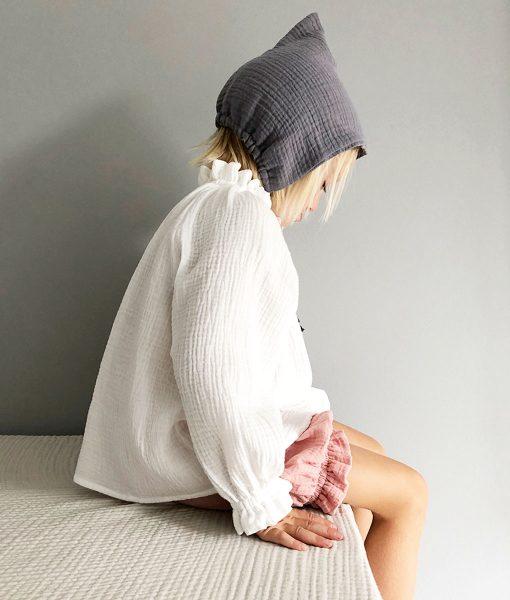 Bluse Oana White Liilu auf www.mina-lola.com
