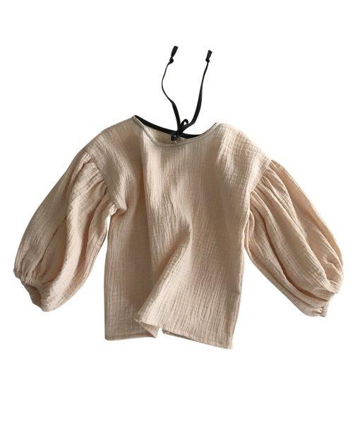 Bluse Stella in Vanilla auf www.mina-lola.com von liilu
