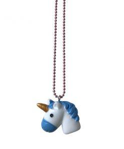 Halskette Unicorn Love Blue auf www.mina-lola.com von Pop Cutie
