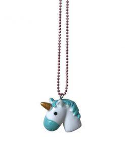 Halskette Unicorn Love Türkis auf www.mina-lola.com von Pop Cutie