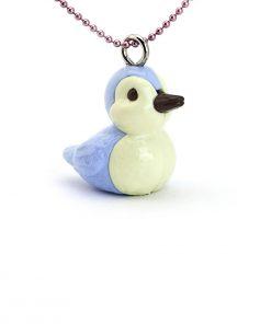 Halskette blauer Vogel auf www.mina-lola.com von Pop Cutie