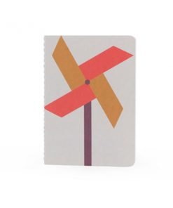 Notebook Windmühle Sticky Lemon auf www.mina-lola.com
