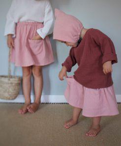Pocket Skirt Elephant von Liilu auf www.mina-lola.com