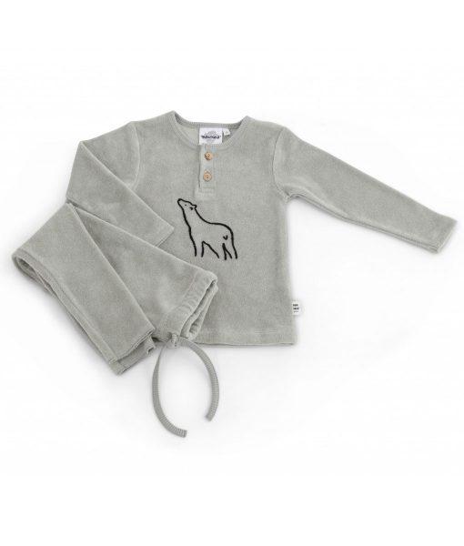 Pyjama OURS Almond Moumout auf www.mina-lola.com