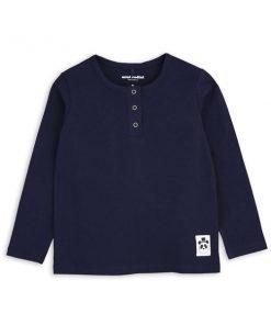 Shirt Navy Basic Grandpa auf www.mina-lola.com von Mini Rodini
