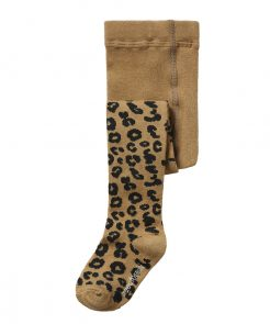 Tights Brown Leopard Maed for Mini auf www.mina-lola.com