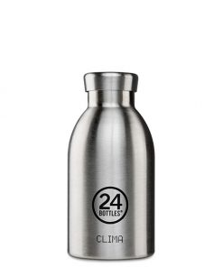 Thermoflasche Edelstahl 0,33L auf www.mina-lola.com von 24bottles