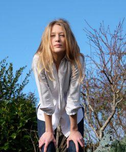 Bluse Alex Oxford-Cotton WAYDA auf www.mina-lola.com