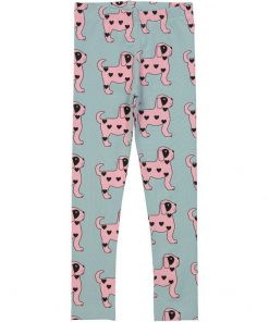 Leggings Pink Dogs auf www.mina-lola.com von Hugo Loves Tiki