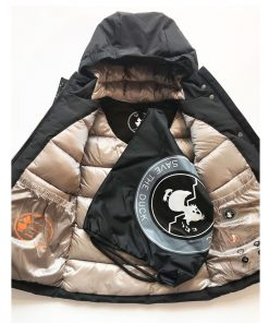 Save the Duck GIRL Arctic Parka COPY7 Black auf www.mina-lola.com