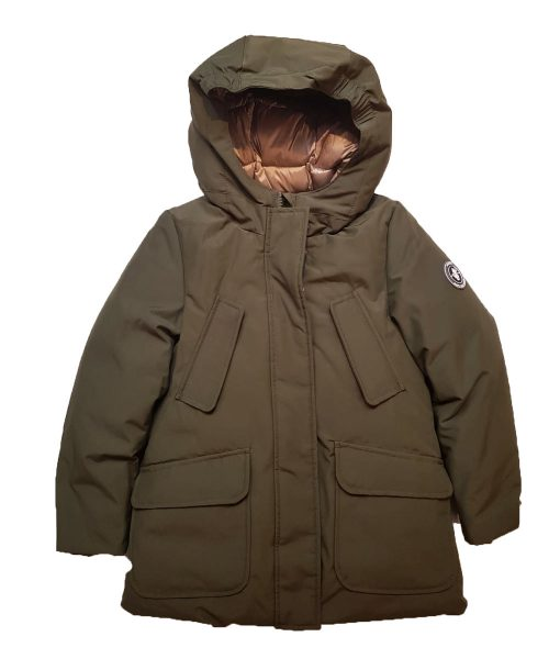 Save the Duck GIRL Arctic Parka COPY7 Dusty Olive auf www.mina-lola.com